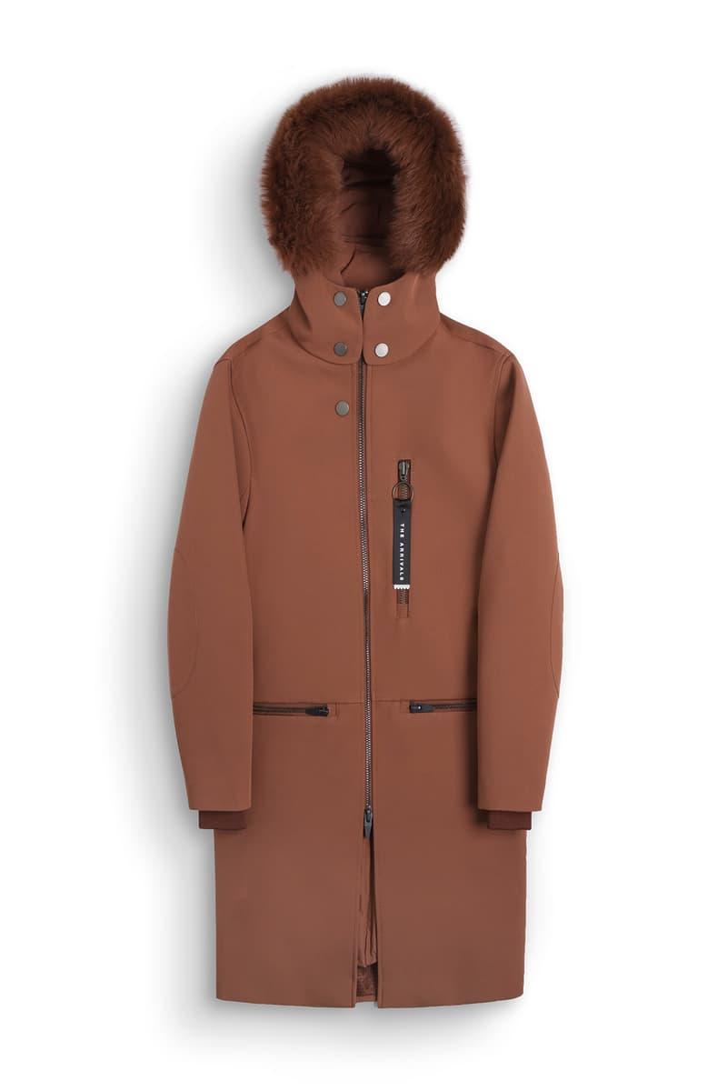 The Arrivals Puffer Aer Aelo Coat Jacket