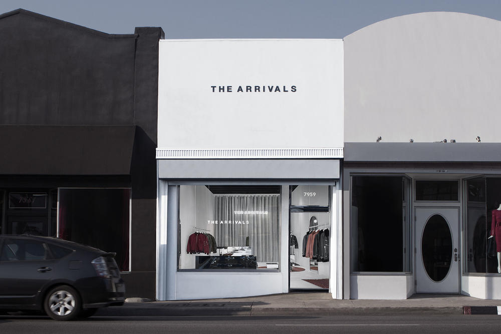 The Arrivals Pop Up Store New York City Los Angeles LA San Francisco