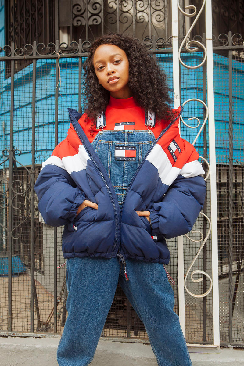 Tommy Hilfiger Tommy Jeans 90s collection lookbook