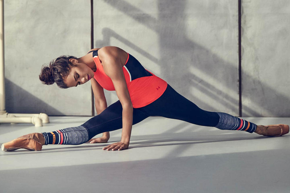 Under Armour Fall Winter 2017 Collection Misty Copeland