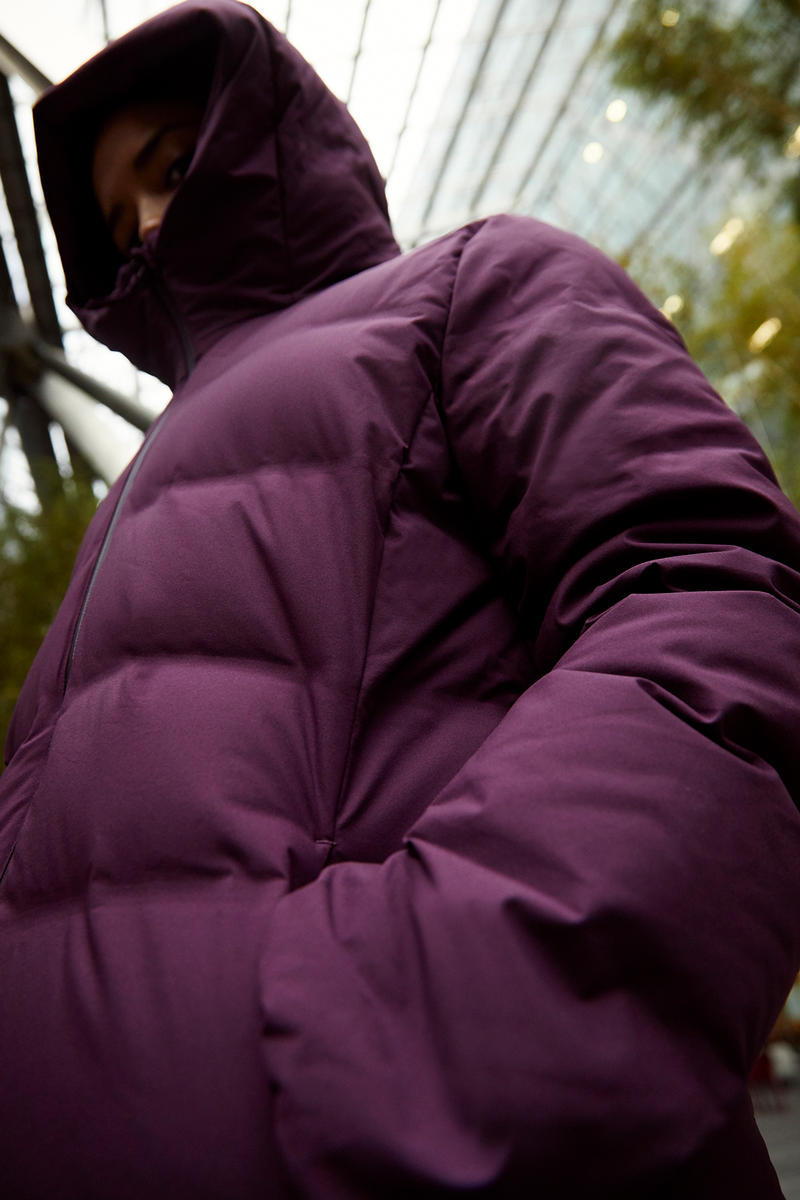 Uniqlo Seamless Down Jacket Fall Winter Coat cozy