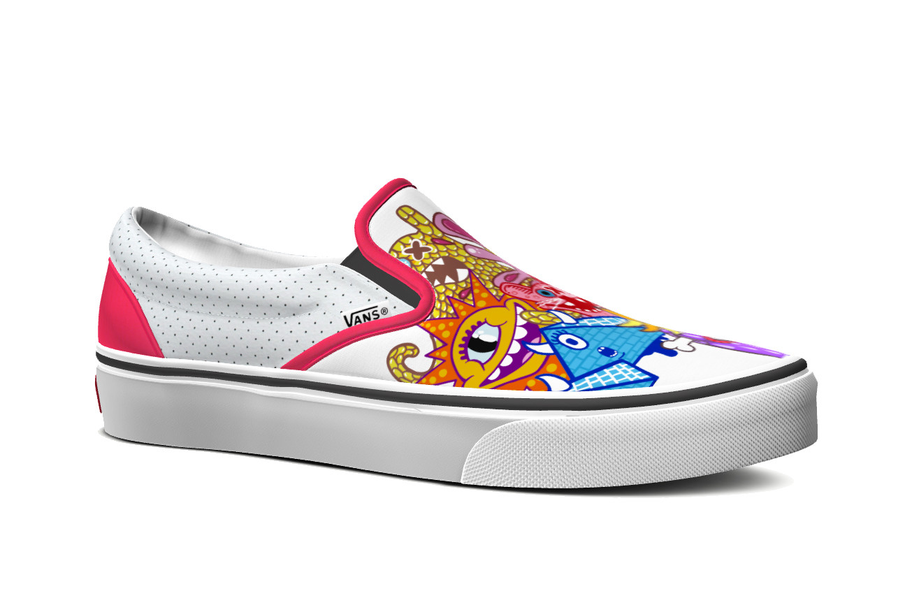 Customize Your own Vans Shoe in Europe