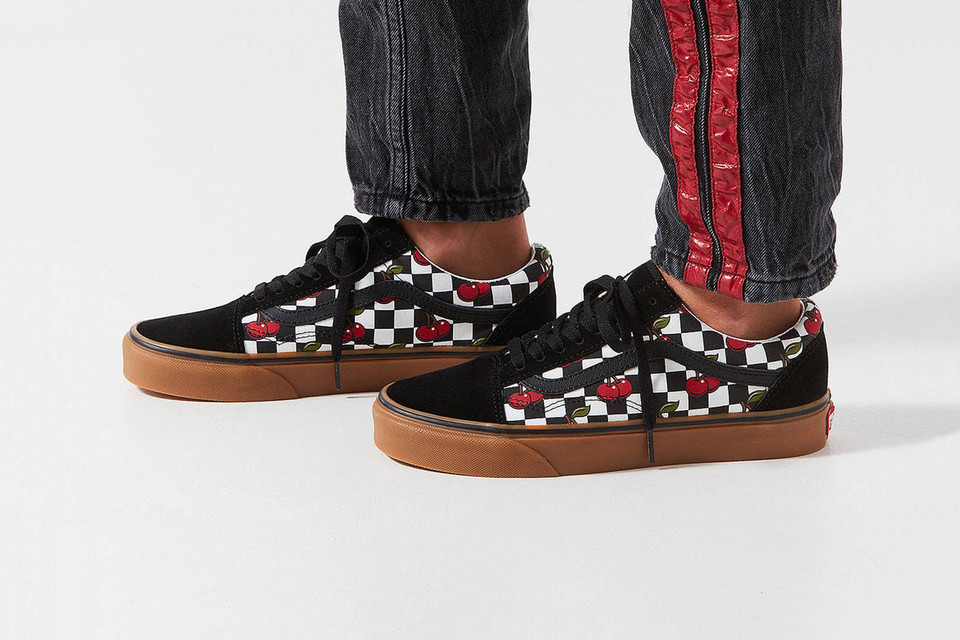 Vans Drops A Checkered Cherry Old Skool Hypebae