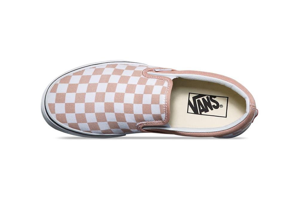 Vans Slip-On Checkerboard Mahogany Rose