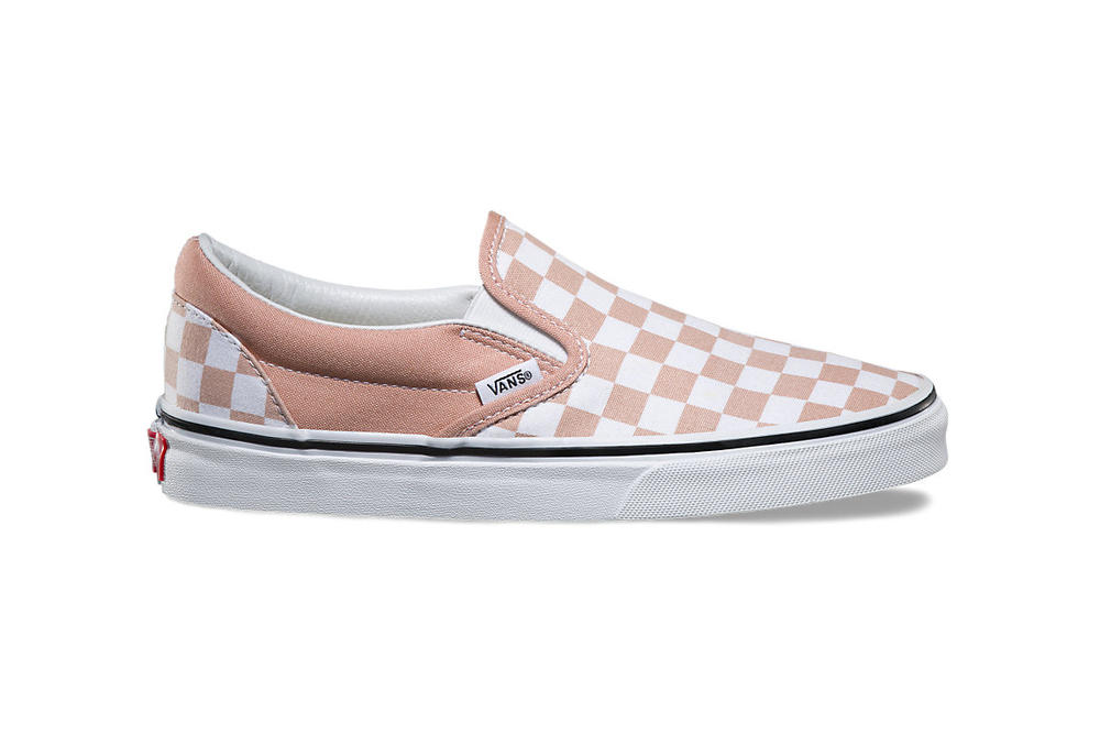 9009a5b061f Vans Slip-On Checkerboard in Mahogany Rose
