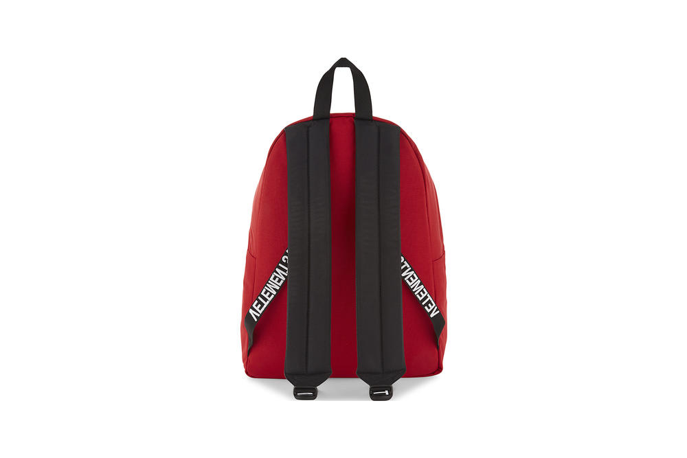 Vetements Eastpak Tourist Nylon Backpack Red Black