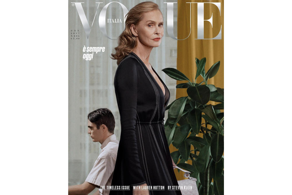Vogue Italia 2017 October 2017 Timeless Issue Lauren Hutton