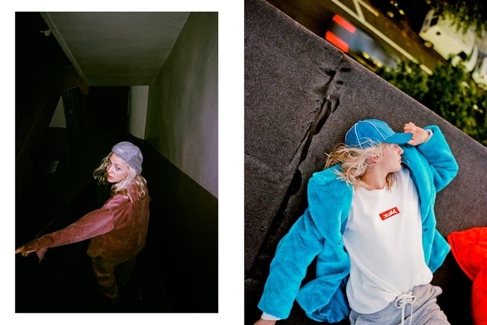 X-Girl Winter 2017 Lookbook Harper Slate Riley Buttery Japan Streetwear
