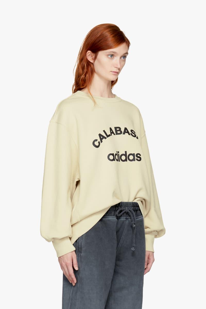 Yeezy Off-White Calabasas Sweatshirt Collection Over Size Big Bulky Cozy Fleece Hoodie Sweater Print Kanye West