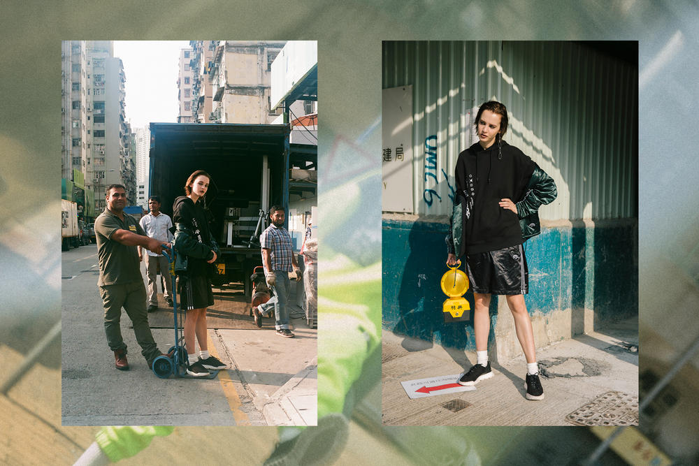 Alexander Wang x adidas Originals Season 2 Drop 3 Exclusive Editorial