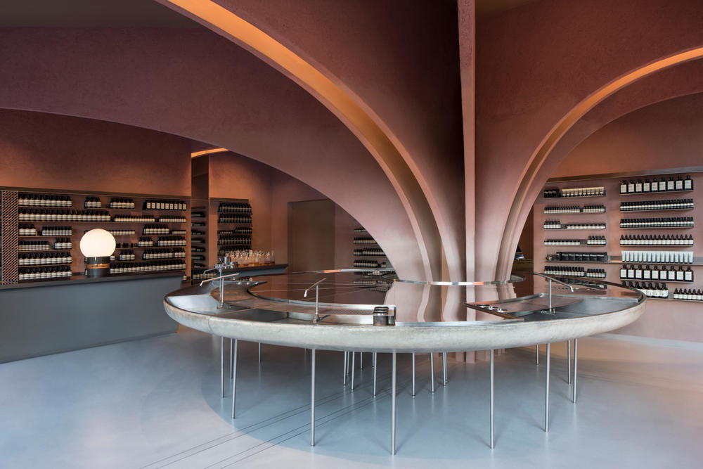 Aesop London Store Beauty Skincare Soap Lotion New Shop Space Exclusive Look Interior Design Architecture