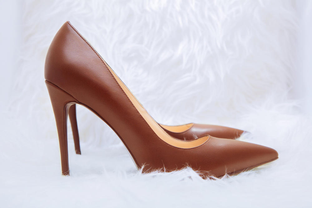 House No. 3028 Nude Heels Shoes Skintone Color Pumps Classic Vegan Leather