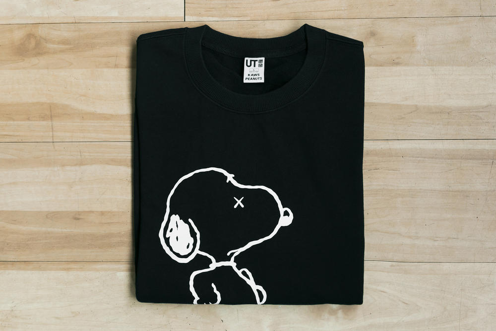 KAWS x 'Peanuts' x Uniqlo UT Collection Closer Look Plush T-Shirt Exclusive KAWS BFF Joe Kaws