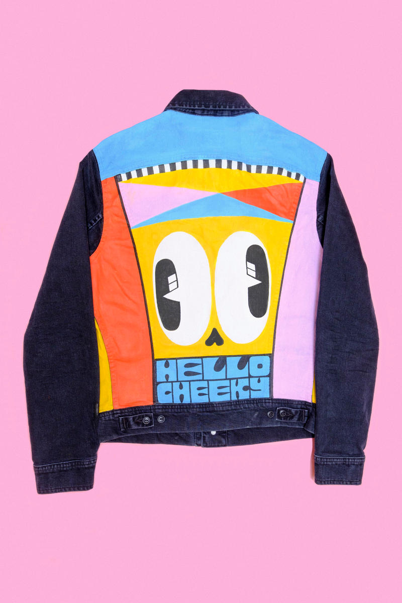 Lee x Hattie Stewart Scarlet Jeans Denim Collection Collaboration Fashion Iconic Styles Jacket Cartoon Art Graphic
