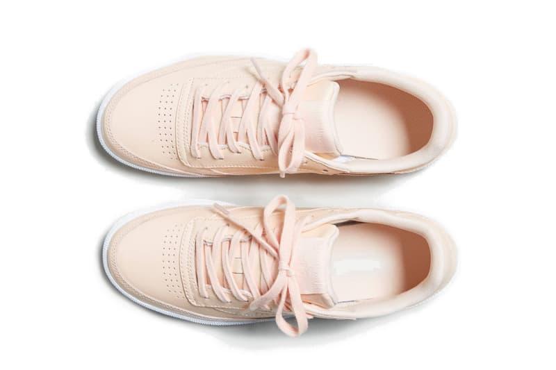 """Reebok Club C 85 Silhouette """"Desert Dust"""" Pink Beige Tan Colorway"""