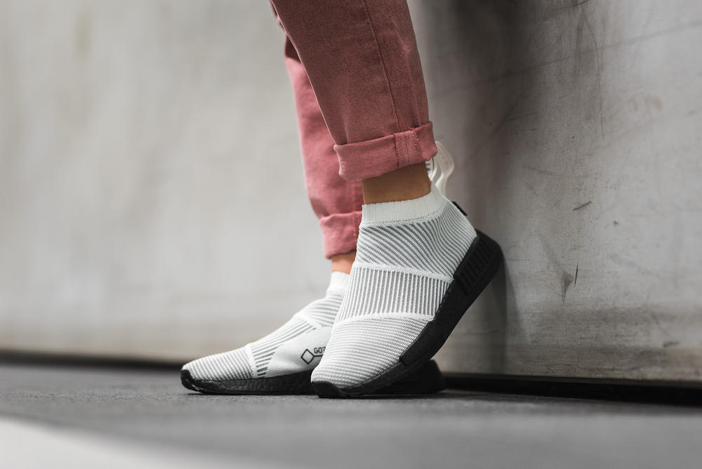 adidas NMD City Sock GORE-TEX Pack On-Feet Look adidas Originals Sneakers Shoes Overkill Shop