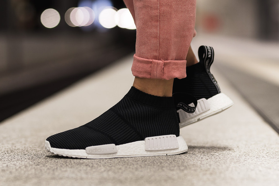 00856cc4ecb4fc adidas NMD City Sock GORE-TEX Pack On-Feet