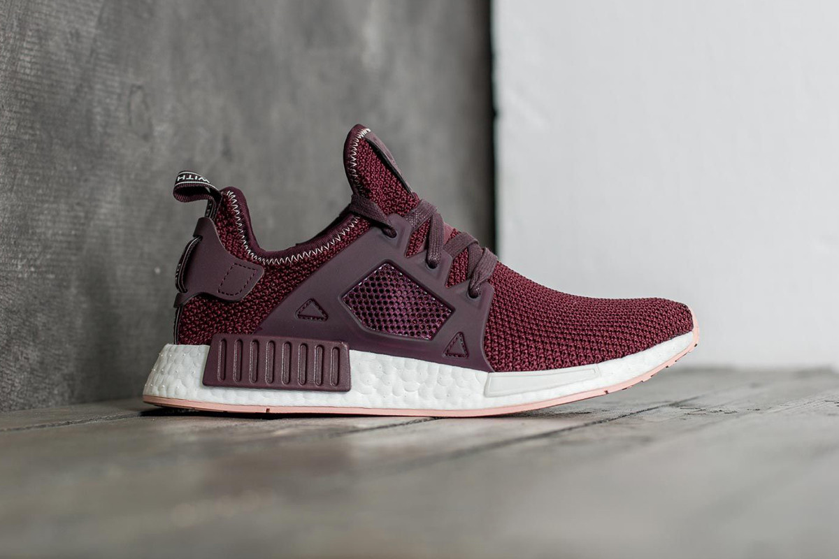 adidas NMD XR1 in Burgundy and Trace