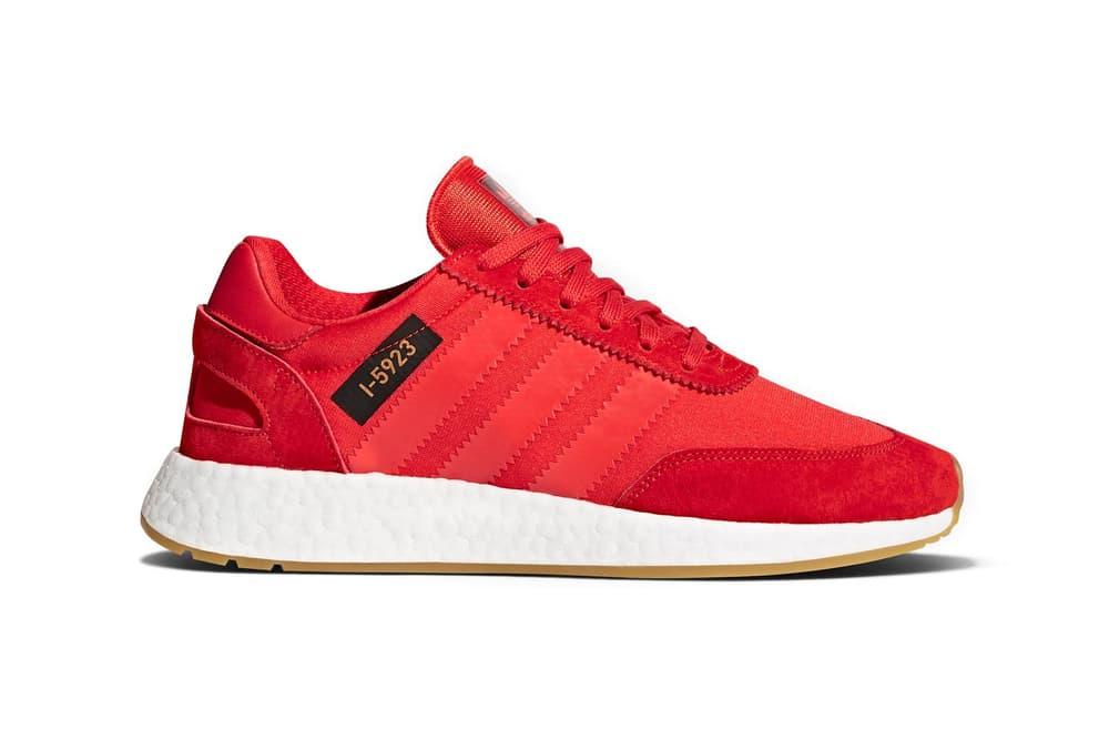 adidas Originals I-5923 Core Red Crystal White