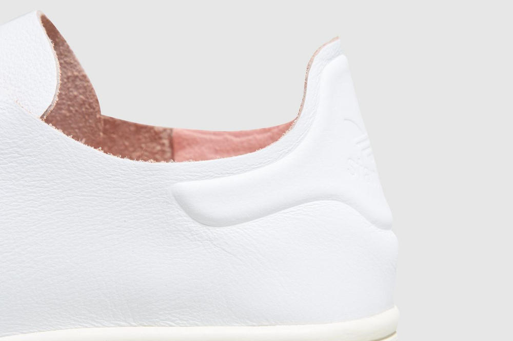 adidas originals stan smith nude pink detail