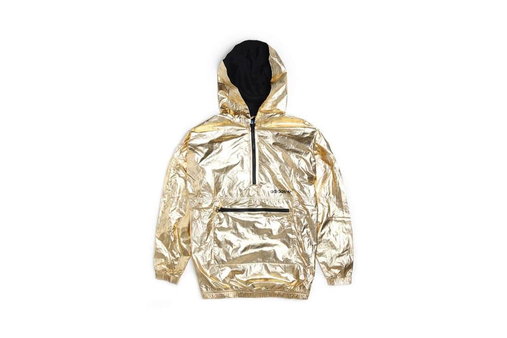 adidas Originals Windbreaker Gold Metallic