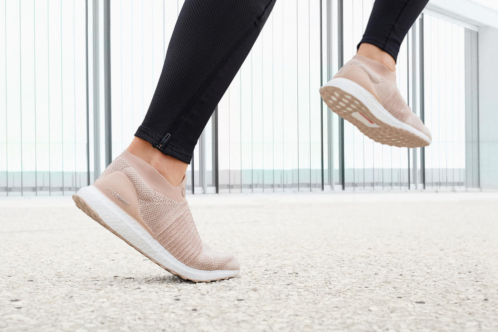 adidas UltraBOOST Laceless Ash Pearl Nude