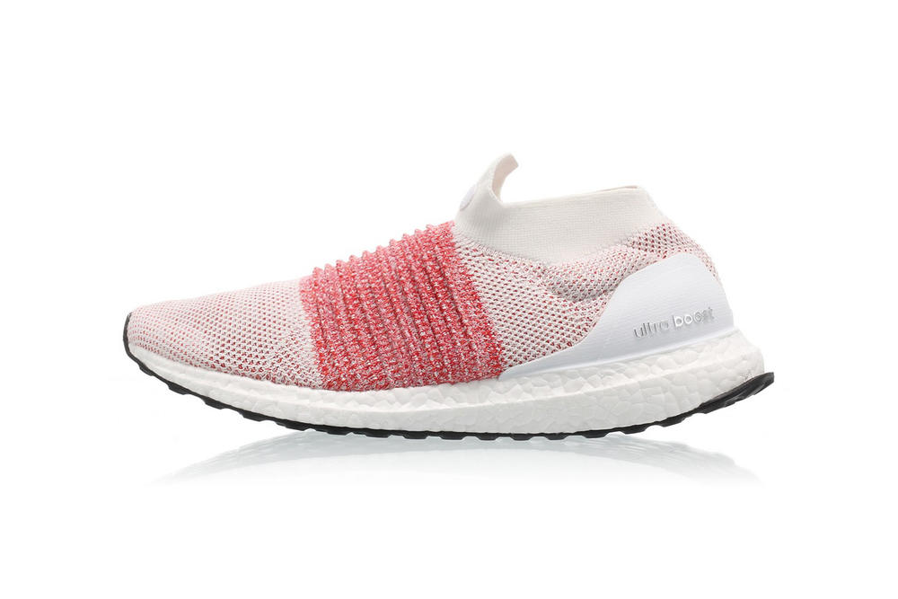 761494c553e adidas UltraBOOST Laceless Trace Scarlet Makeover