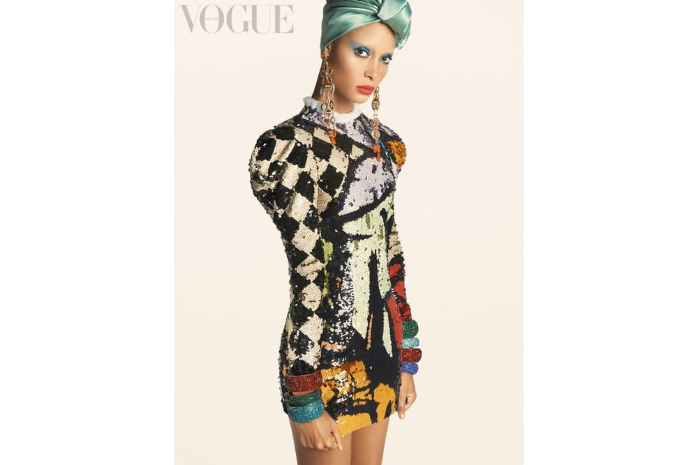 Adwoa Aboah British Vogue Magazine Cover December Issue Edward Enninful