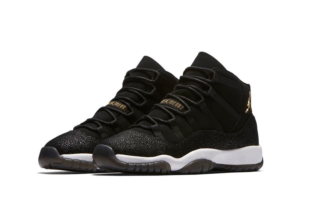 Nike Air Jordan XI Heiress Black Friday Sneaker Release Exclusive Women's Silhouette