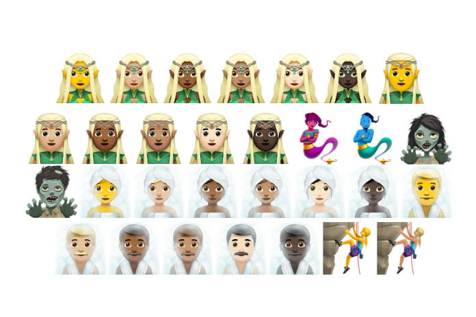 Apple iOS 11 Update Every Single New Emoji Character Icons