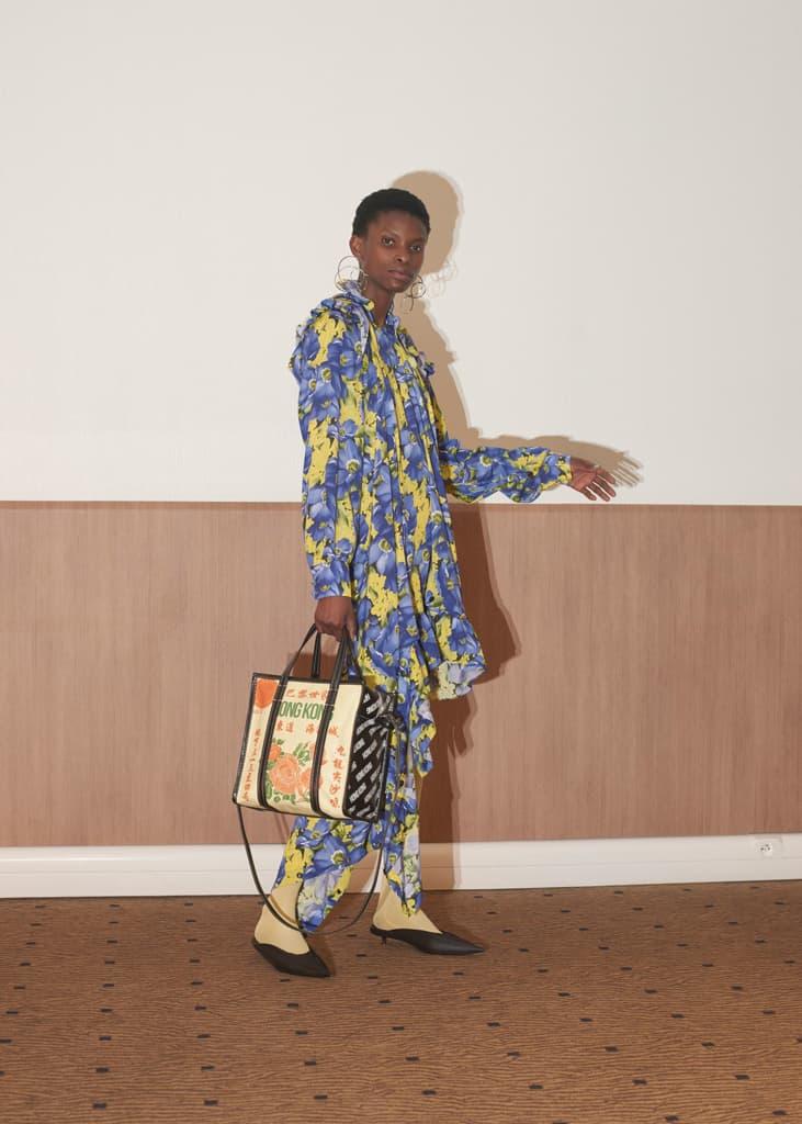 Balenciaga Women's Resort 2018 Collection Demna Gvasalia Fashion Pieces Bags Jackets Silhouette