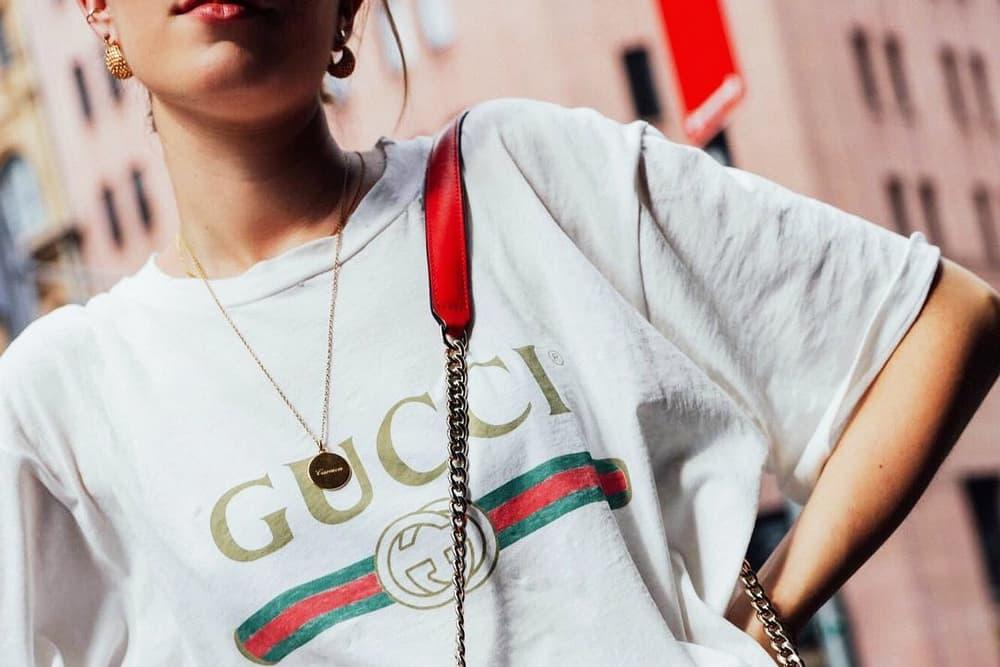 Gucci Vintage Logo T-Shirt White