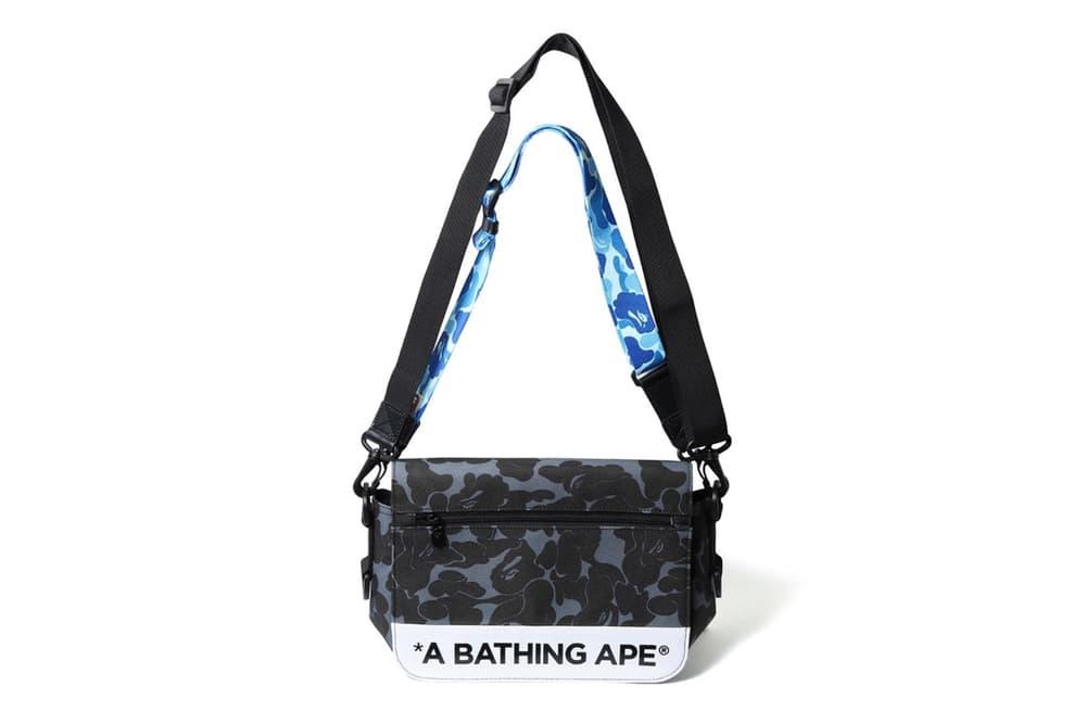 BAPE ABC Double Strap Bag Pink