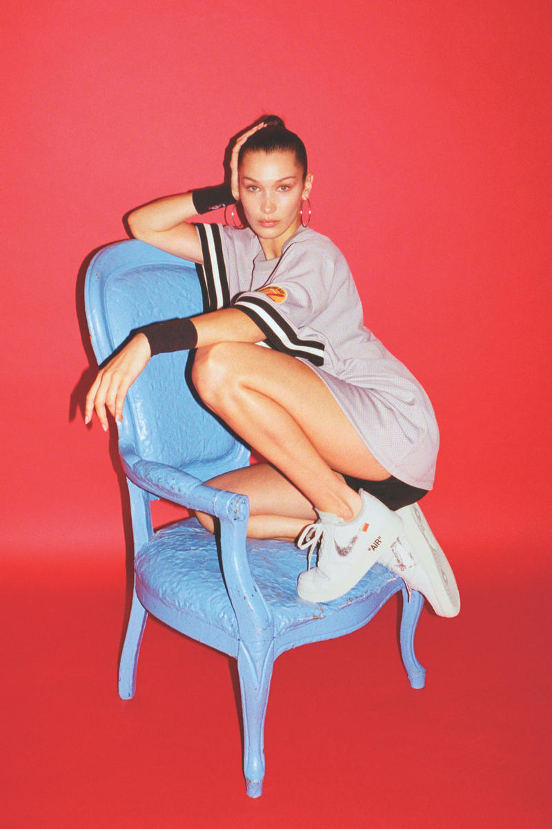 Bella Hadid Nike Air Force 100 Limited Edition Silhouette Air Force 1 AF1 Popular Pack New Exclusive