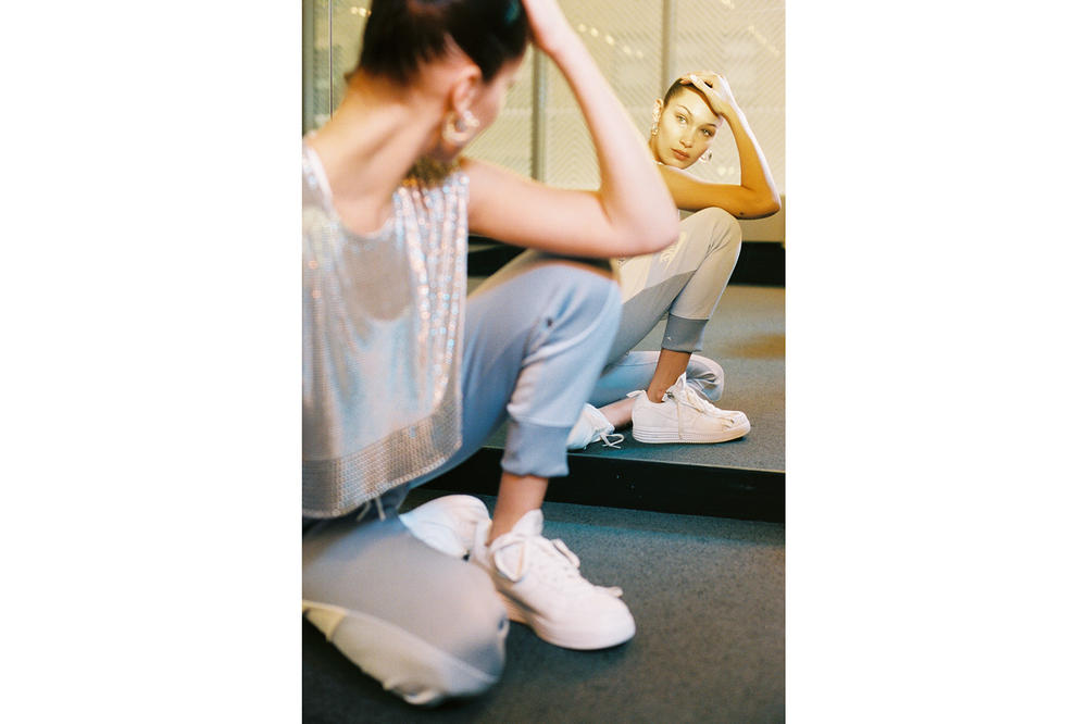 Bella Hadid Nike Air Force 1 AF100 Editorial Vogue