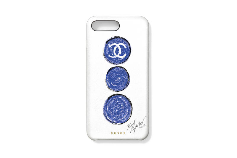 Chanel x colette x chaos Limited Edition Phone Cases Accessories VIP Karl Lagerfeld Pharrell Williams Event