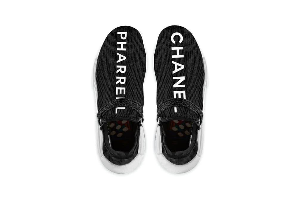 Chanel Pharrell Williams adidas Originals Hu NMD colette release date price
