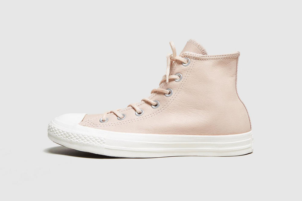 Converse Chuck Taylor All Star Hi Dusk Pink leather