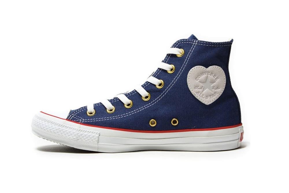 Converse Chuck Taylor All Star Heart Patch Logo