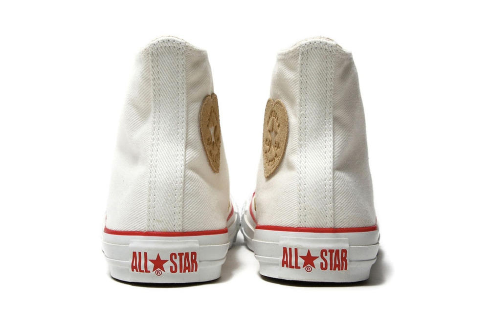 Converse Chuck Taylor All Star Heart Patch Logo