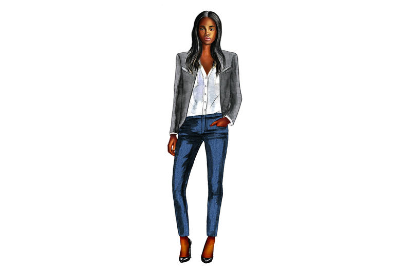 Women's Work Suit