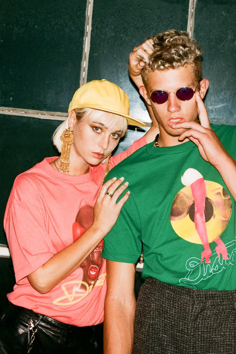 Disco Tuesdays Surf is Dead Los Angeles Brand Lookbook Collection Print Bold Graphics 70's Inspired Colorful
