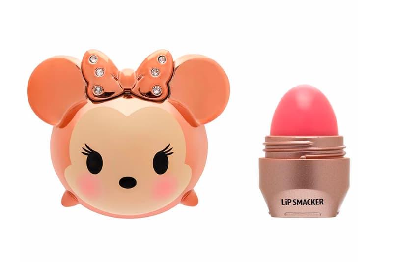 Disney Tsum Tsum Lip Smacker Rose Gold Mickey Minnie Mouse Balm