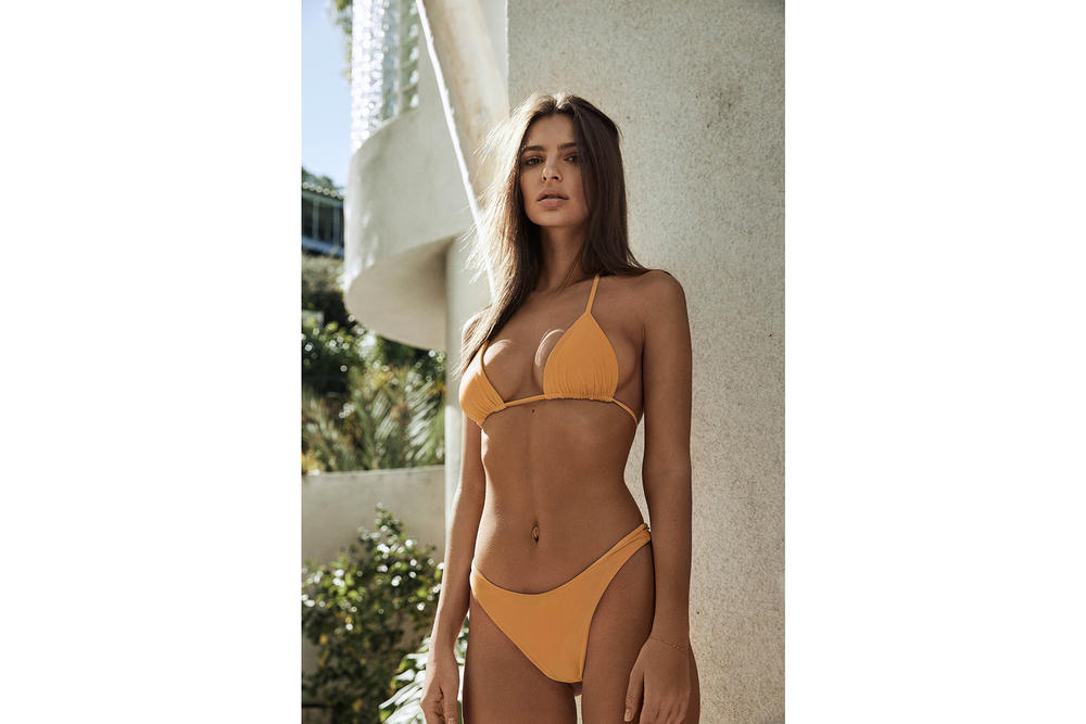 Emily Ratajkowski Inamorata Swim Swimwear Bathing Suit Bikini Lookbook Editorial