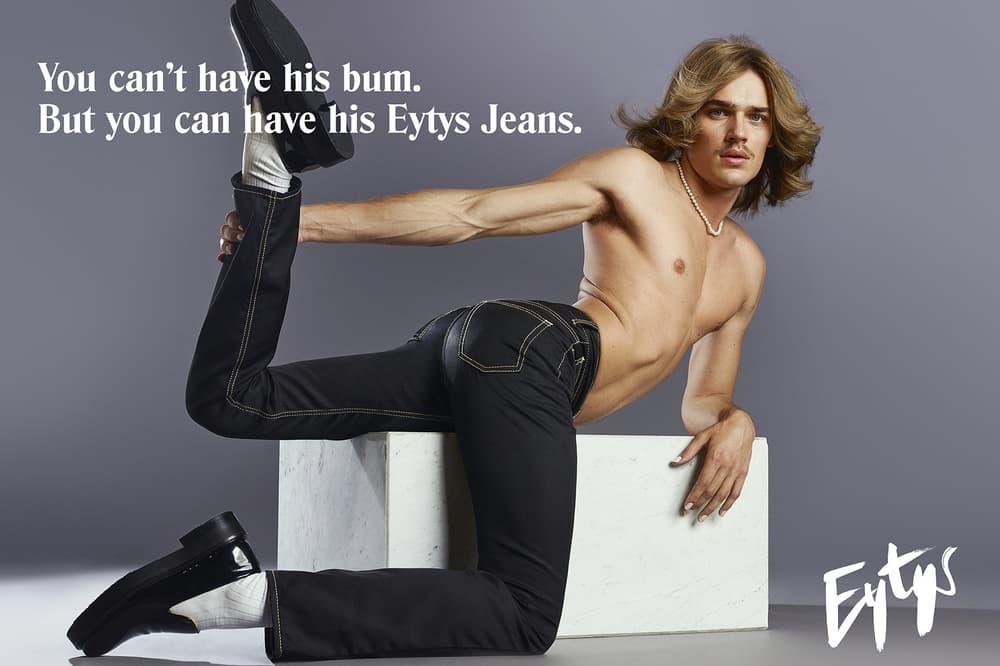 Eytys genderless gender neutral unisex denim jeans collection