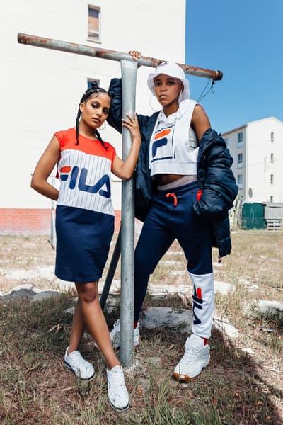 FILA South Africa 2017 Lookbook