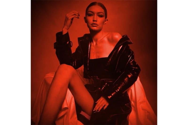 Gigi Hadid Stuart Weitzman Eye Love Collection Collaboration Teaser