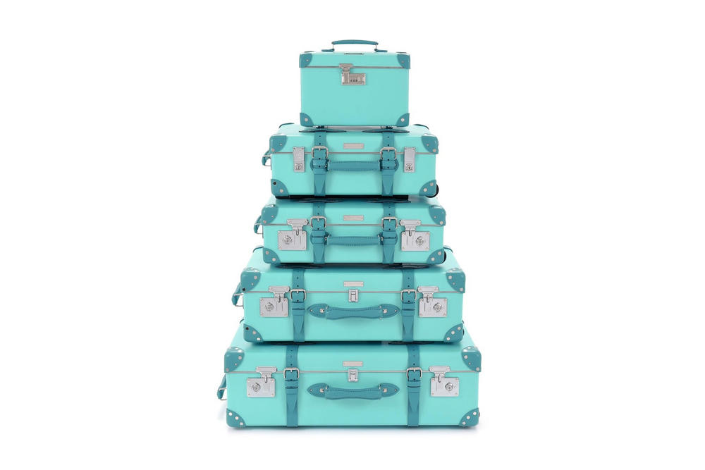 Tiffany & Co Globe-Trotter Luggage Collection Travel Suitcase Tiffany Blue Luxury Jewellry Case