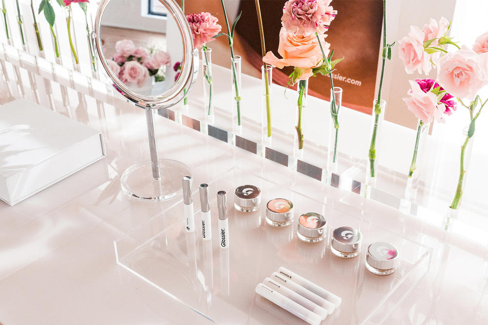 Glossier UK London pop up store opening