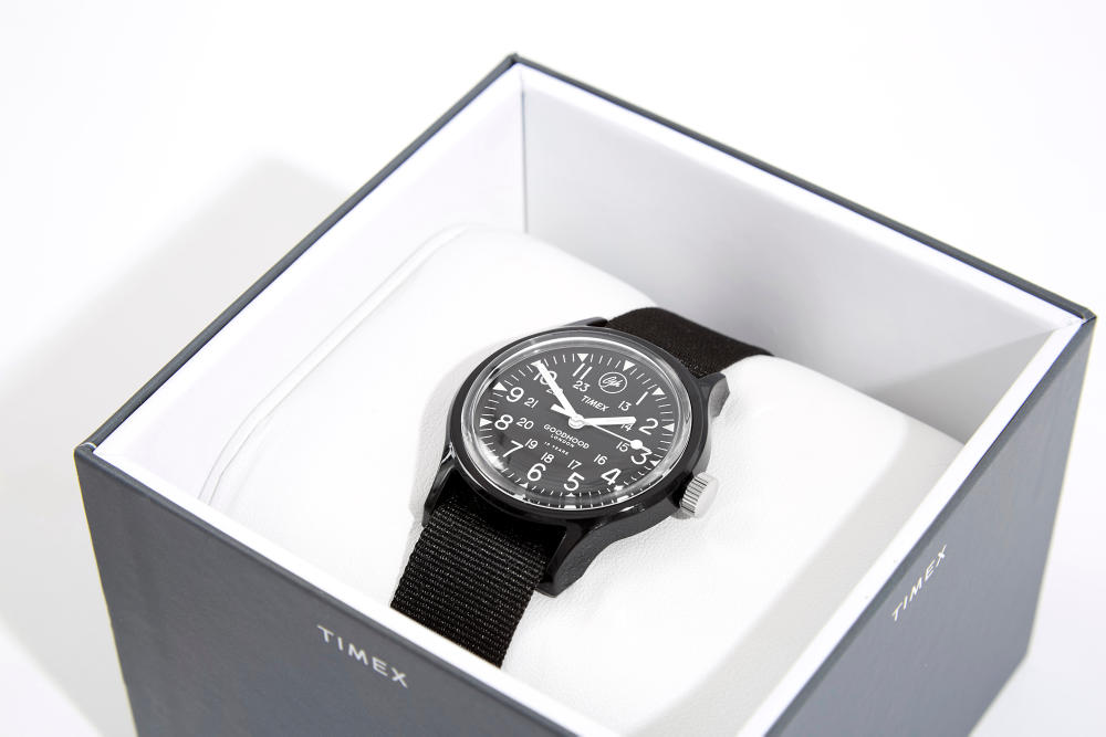 Goodhood timex watch black friday collaboraton limited edition